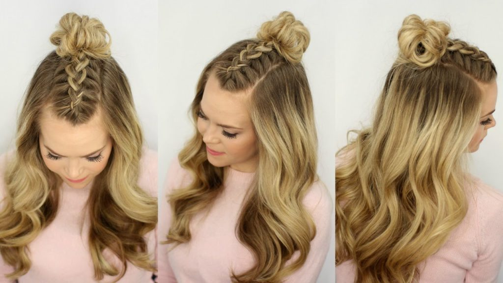 The Top Knot A Playful Everyday Hairstyle