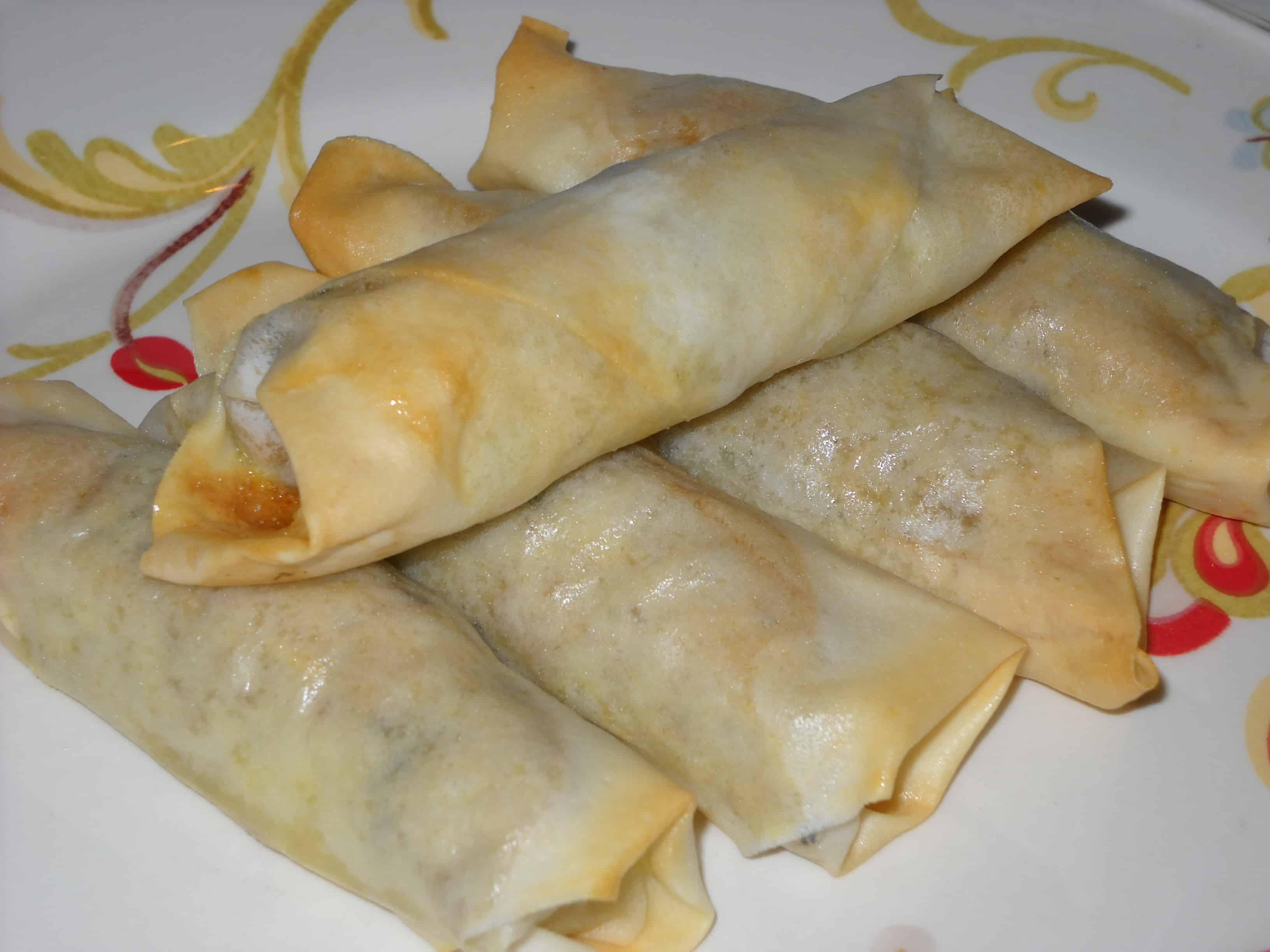 Moroccan spring rolls