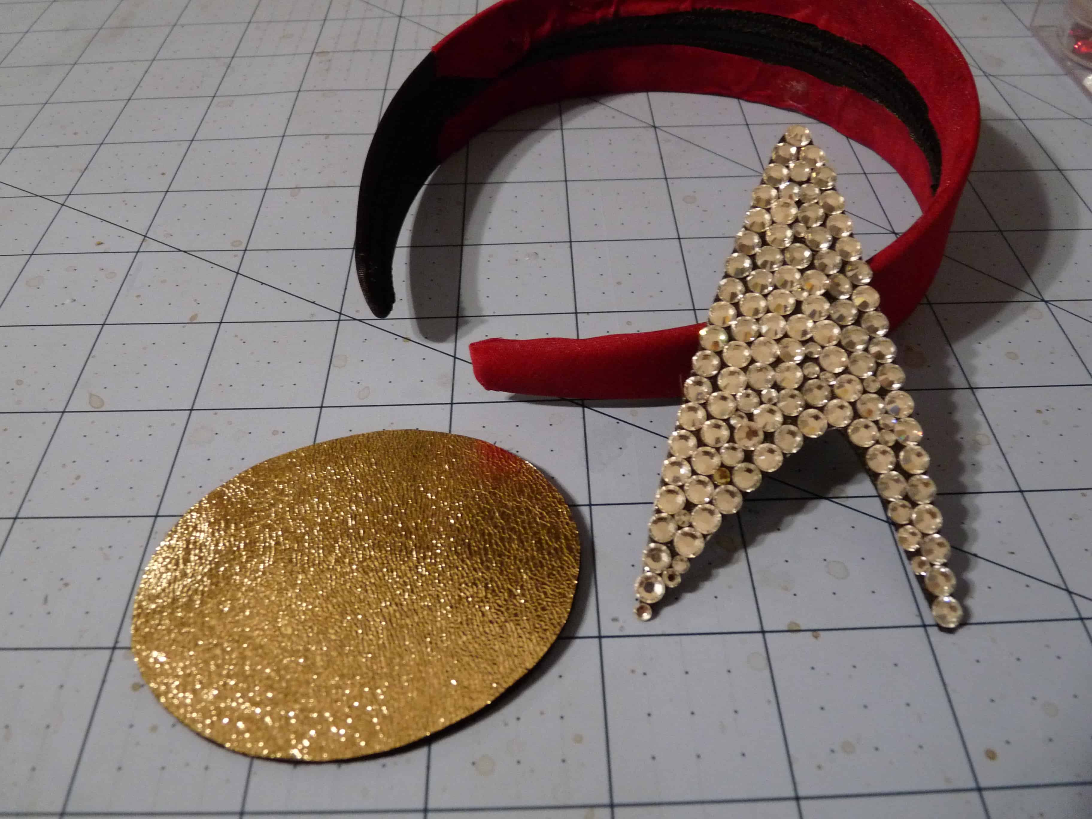 No-sew Star Trek headband