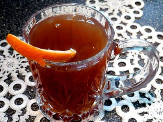 Old fashioned Russian tea