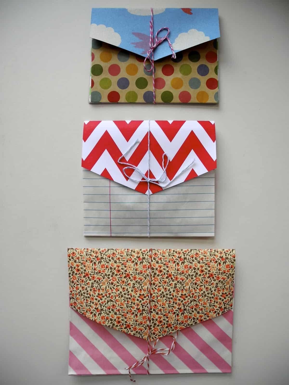 Paper bag envelopes