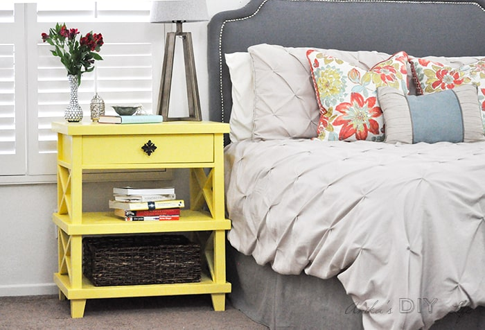12 diy nightstands that give your bedside a whole new look Diy Nightstand