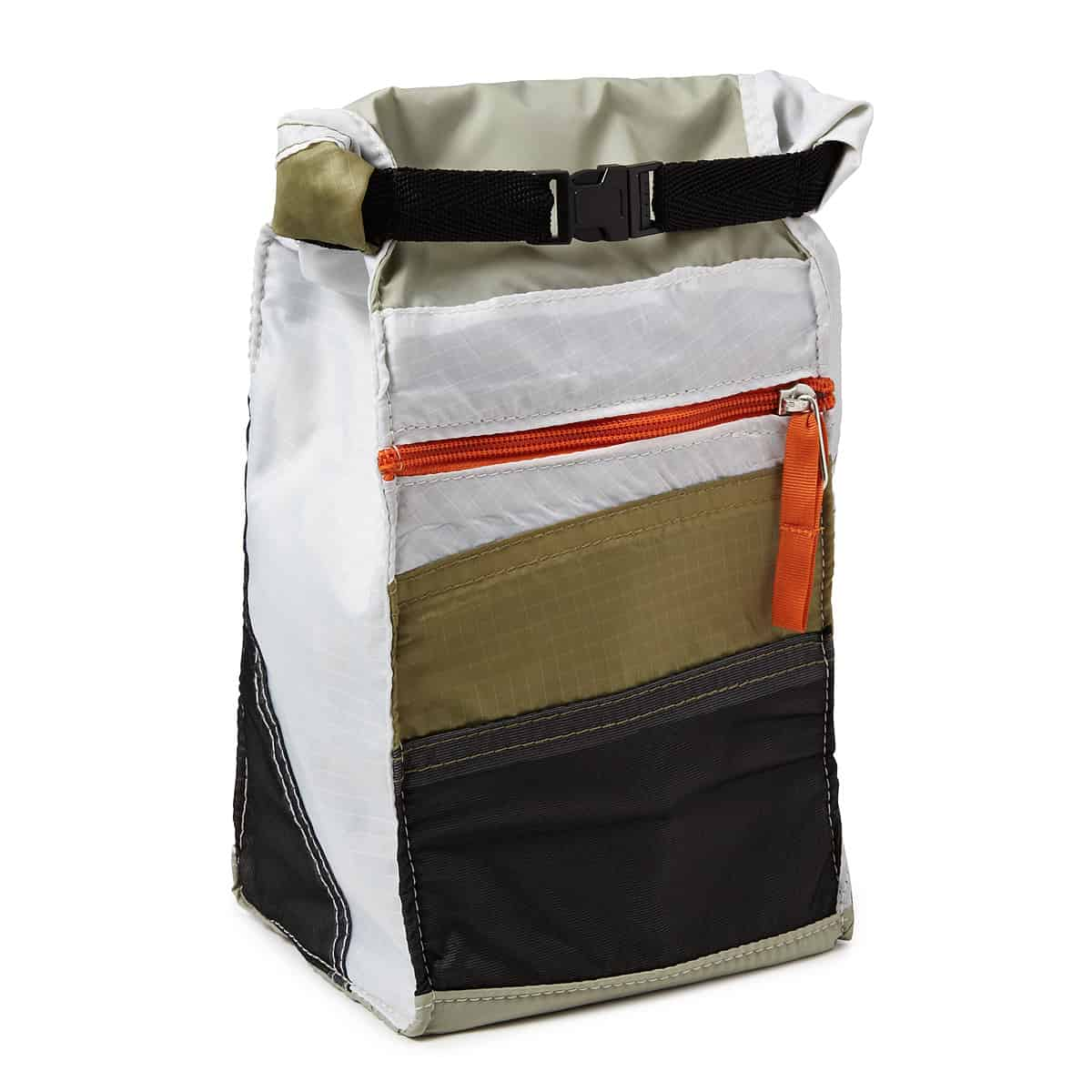 Patchwork team lunch bag