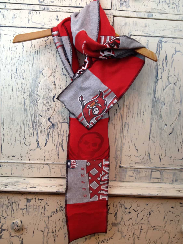 Patchwork team scarf