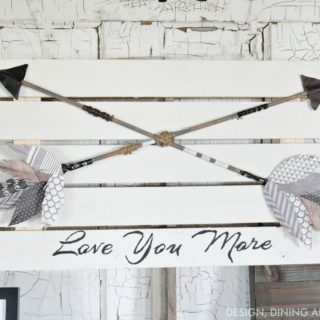 Shooting for Greatness with Trendy and Contemporary DIY Arrows