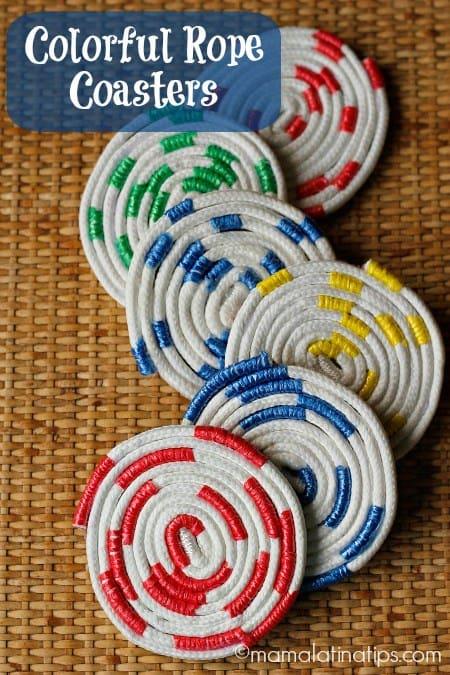 Rope coasters