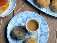 Rustic camembert Scotch eggs with mustard and honey dip 200x150 Delicious and Healthy: 14 Best Recipes that Involve Honey!