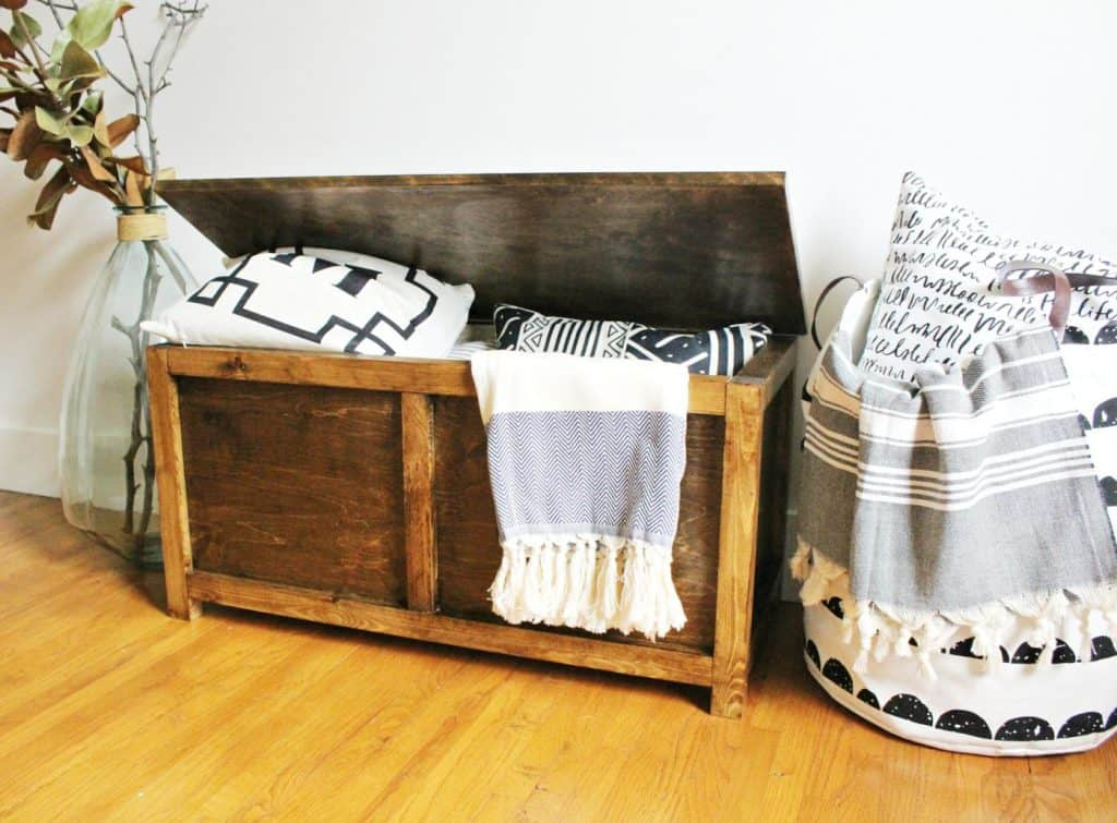 Rustic storage chest