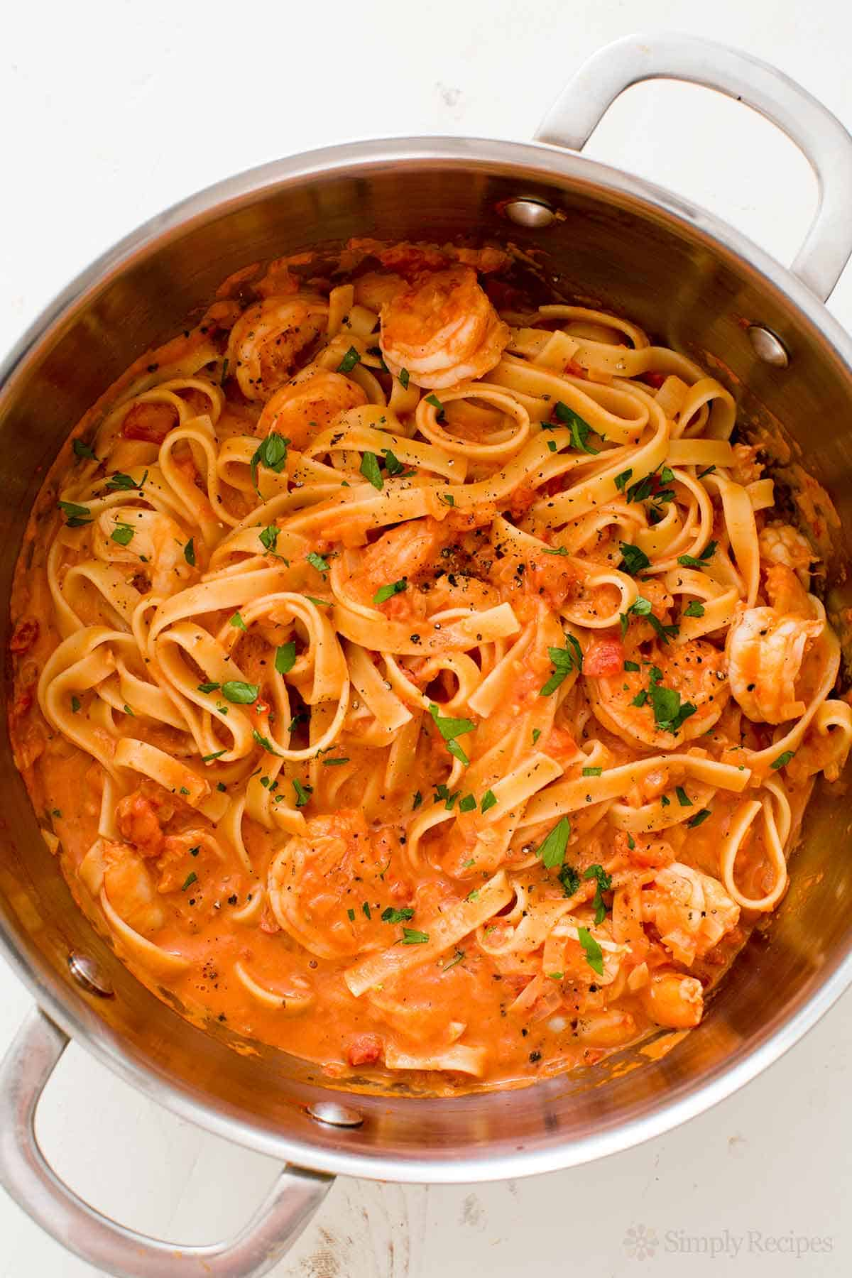 Shrimp pasta alla vodka A Scrumptious Healthy Treat to Enjoy: Seafood Pasta Recipes