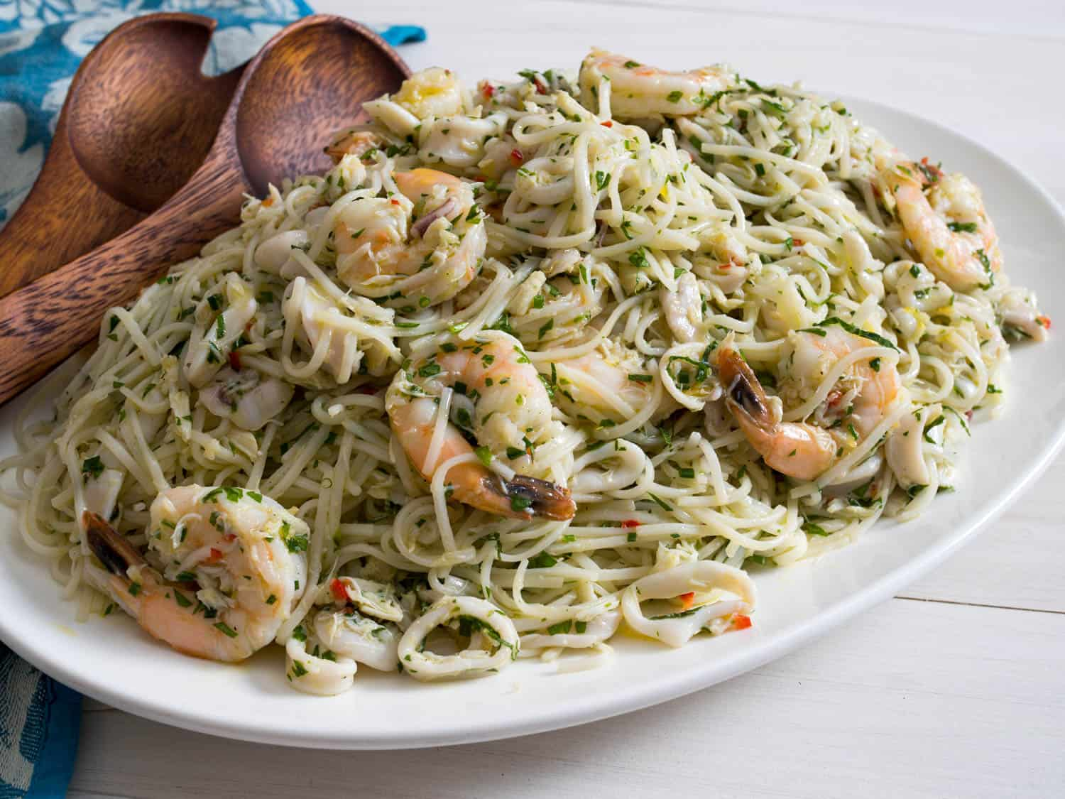 A Scrumptious Healthy Treat To Enjoy Seafood Pasta Recipes