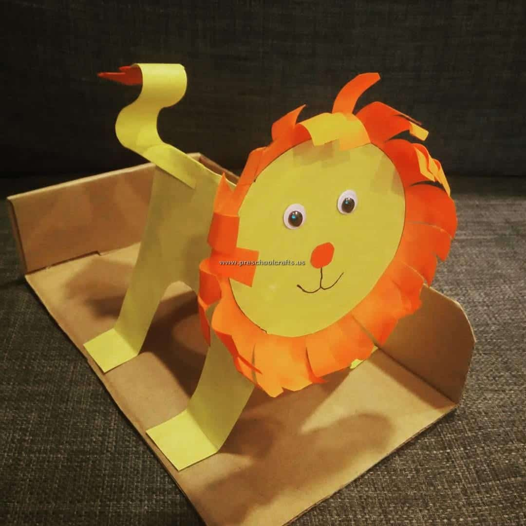lion craft ideas roaring with 15 crafts involving lions 2350