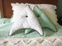 Star Trek throw pillows 200x150 Live Long and Craft: Fun Star Trek Crafts to Try Out!