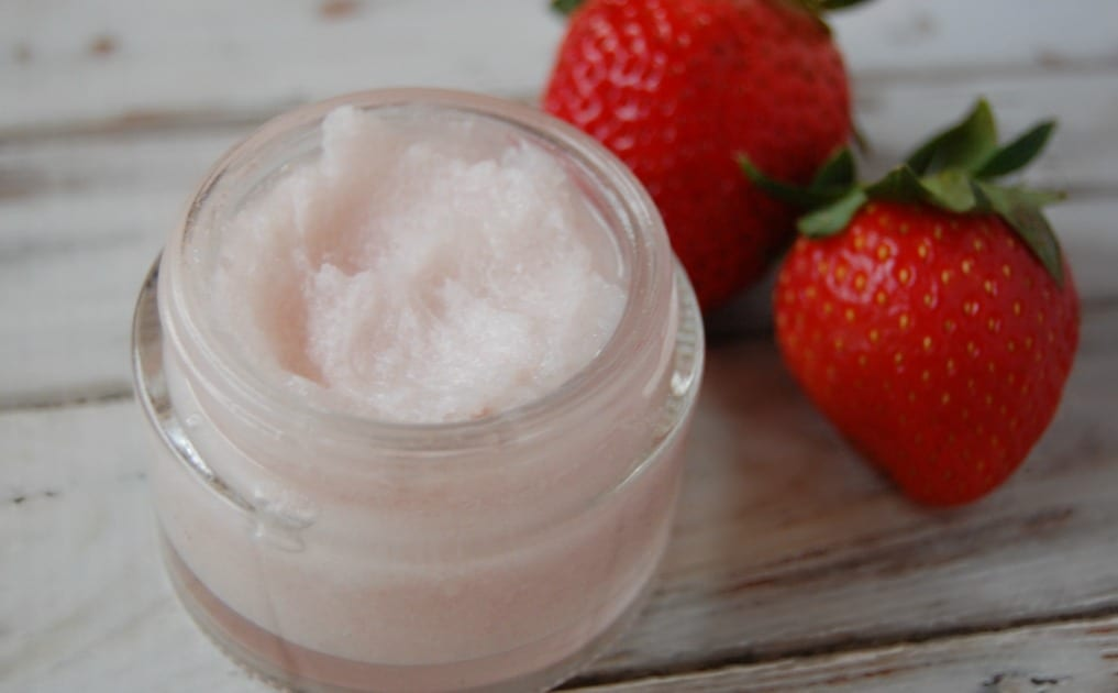 Strawberry toothpaste