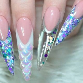 DIY Mermaid Nails: An Enchanting Fairytale Manicure