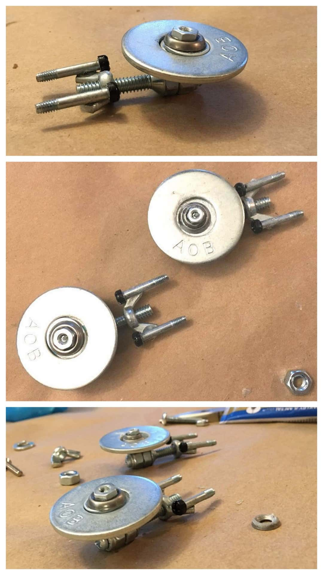 Washer and screw mini Star Trek Enterprise