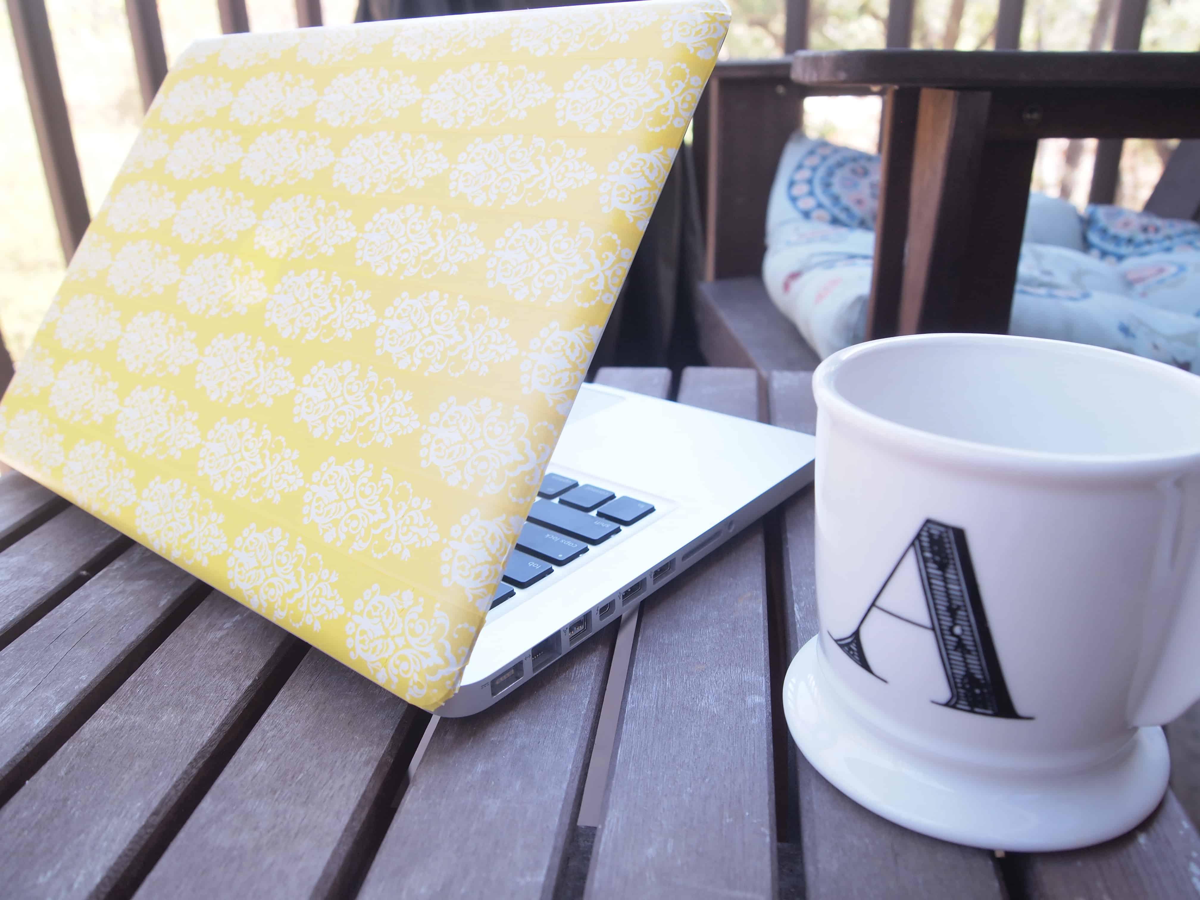 Washi tape laptop