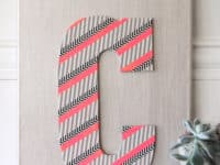 Simple and Colorful: 13 Super Quick Washi Tape Crafts