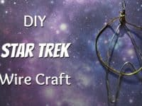 Wire Star Trek pendant 200x150 Live Long and Craft: Fun Star Trek Crafts to Try Out!