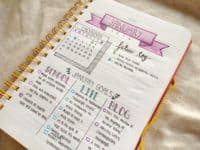 Catgeorized goal lists 200x150 15 Inspiring DIY Ways to Make A New Year's Resolutions List