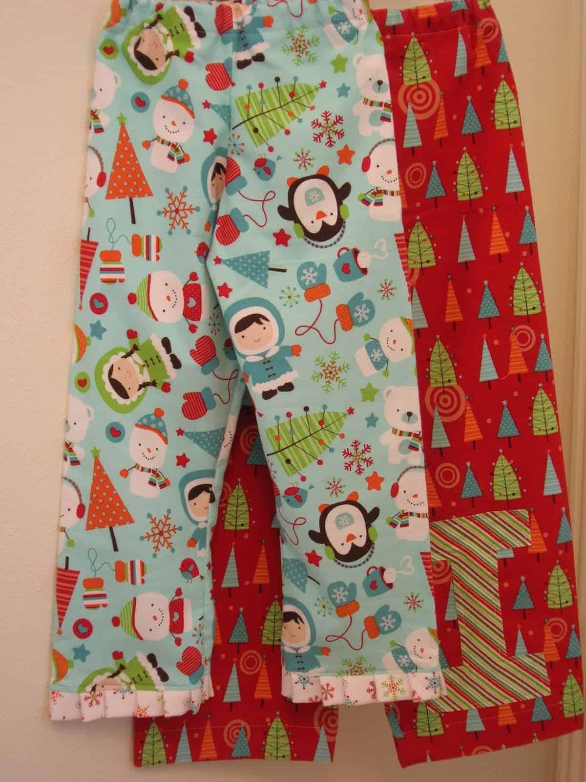 Christmas eve pajama pants