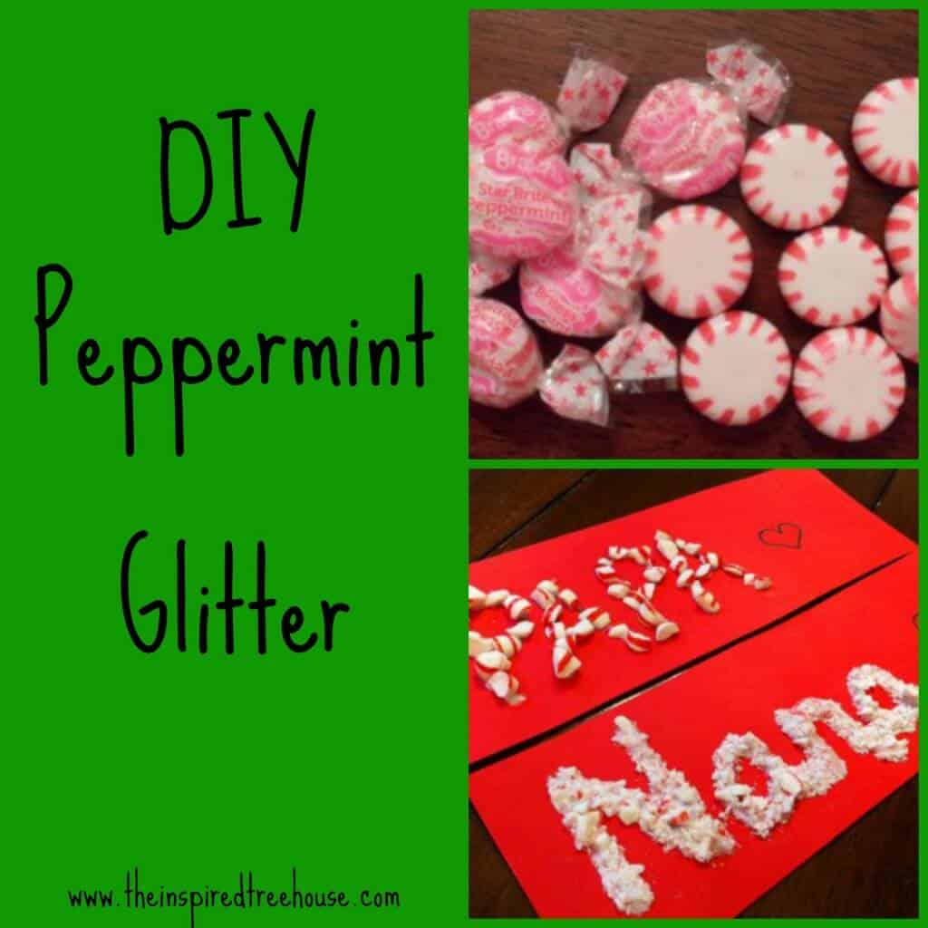DIY peppermint glitter 15 DIY Christmas Crafts Involving Glitter