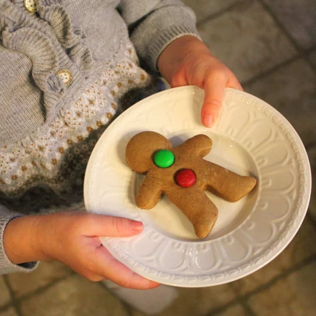 Disneyland gingerbread cookies