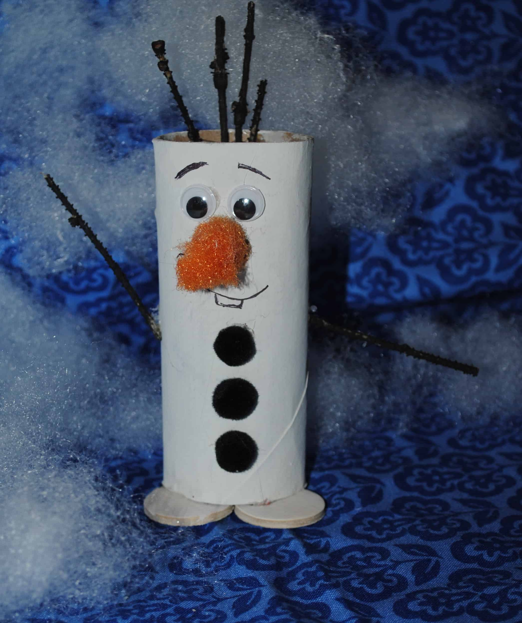 craft paper roll a disney delight 13 crafts inspired by frozen 1608
