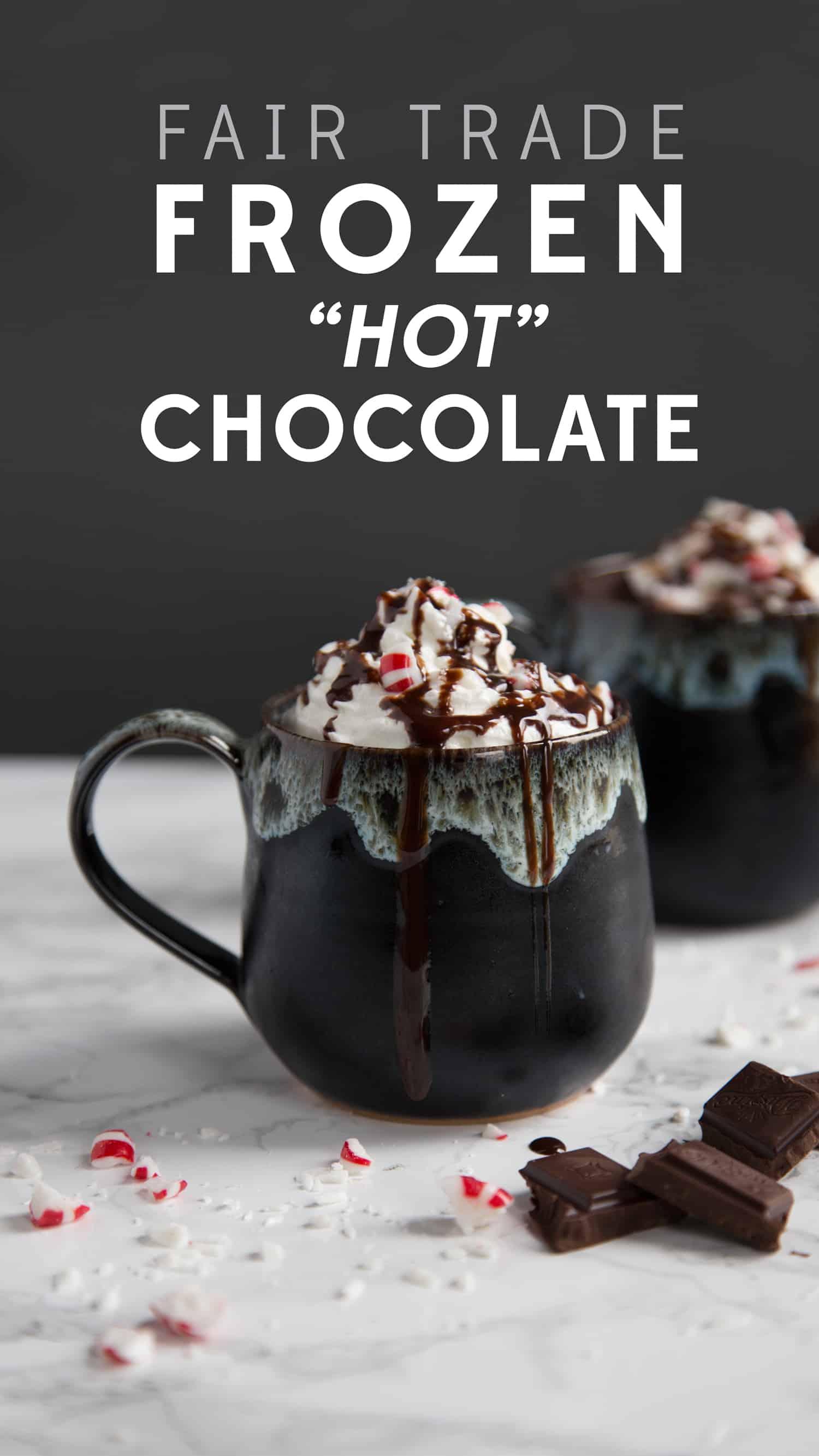Frozen hot chocolate