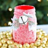 Joyful, Joyful: DIY Christmassy Mason Jars