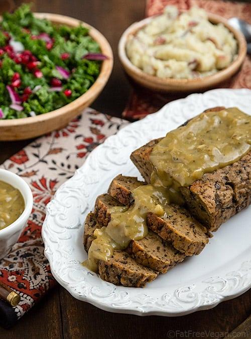 Musthroom seitan roast
