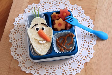 Olaf bento style lunch