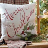 Dreaming of a Comfy Christmas: DIY Christmas Pillows