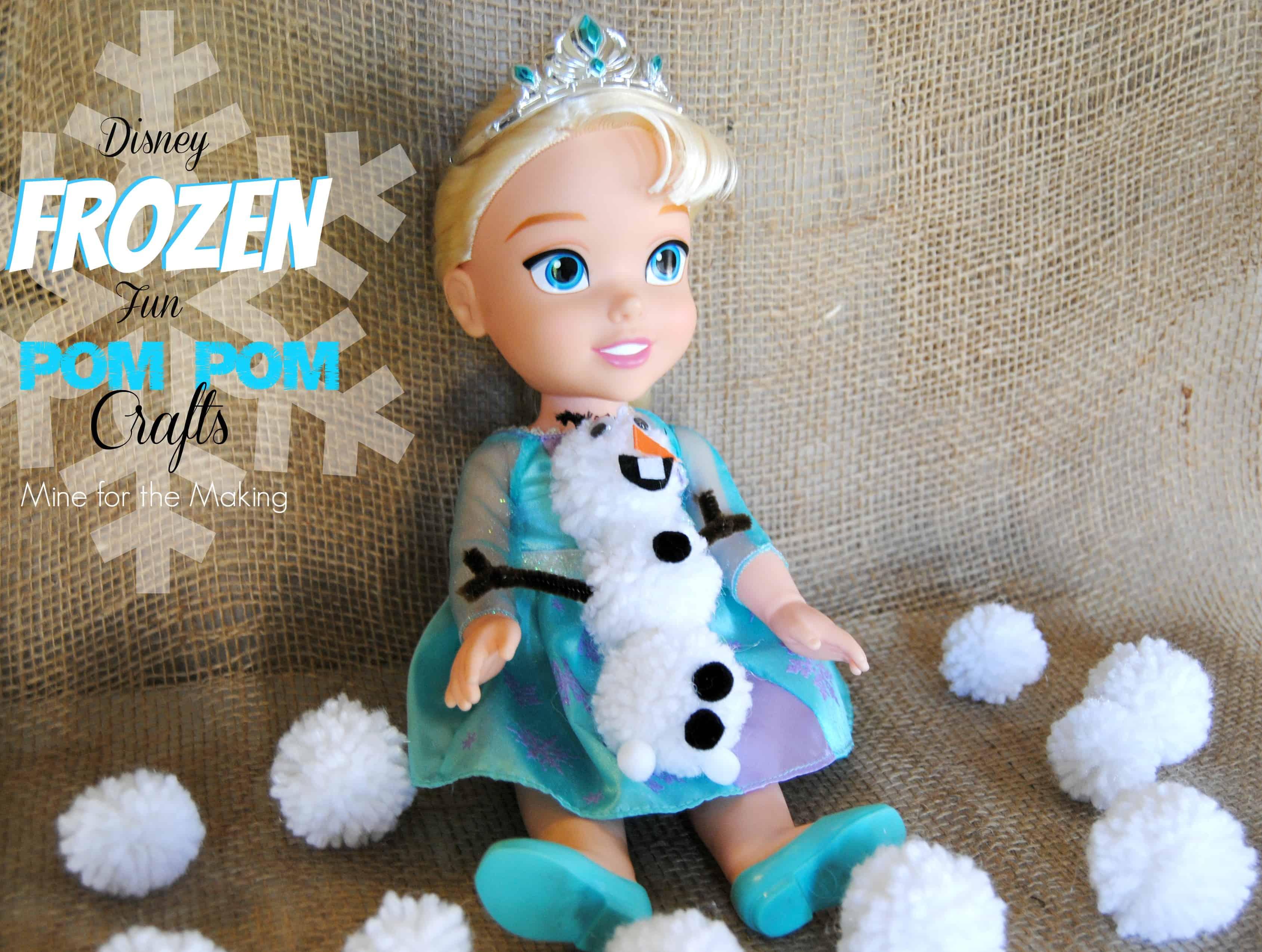 Pom pom Olaf