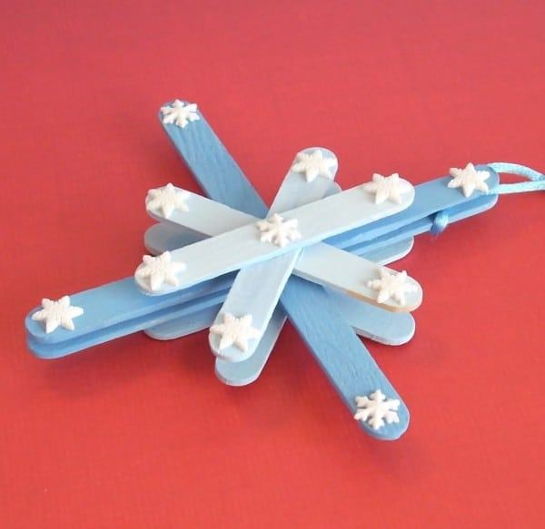 Popsicle stick Northern Star