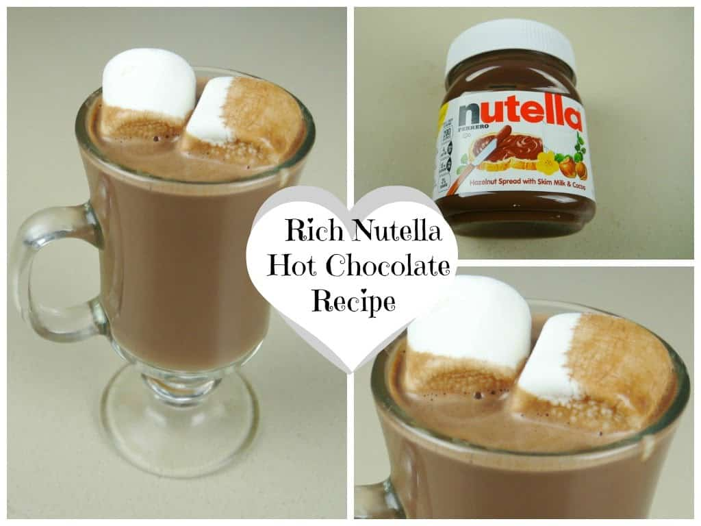 Rich Nutella hot chocolate