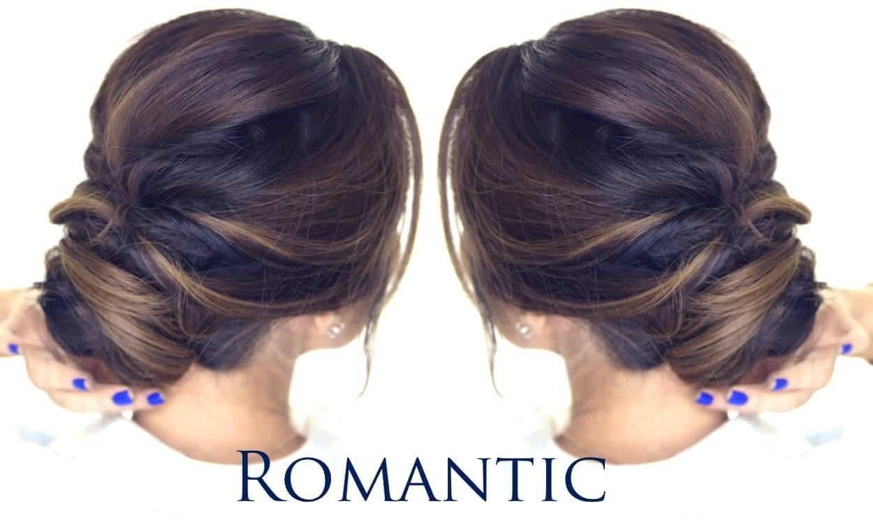Romantic NYE bun