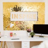 Sparkling Luxury: DIY Sequin Projects for Your Home