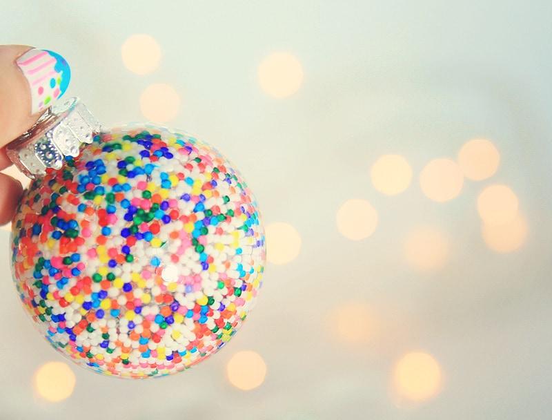 Sprinkles Christmas ornament