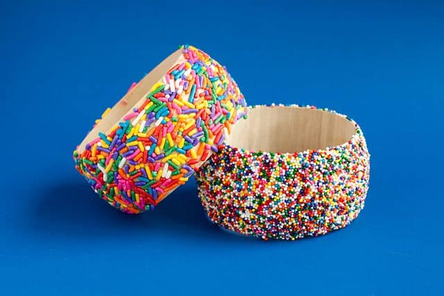 Sprinkles bangle bracelets