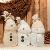 12 Adorable DIY Snowmen You Can Make With Your Kids!