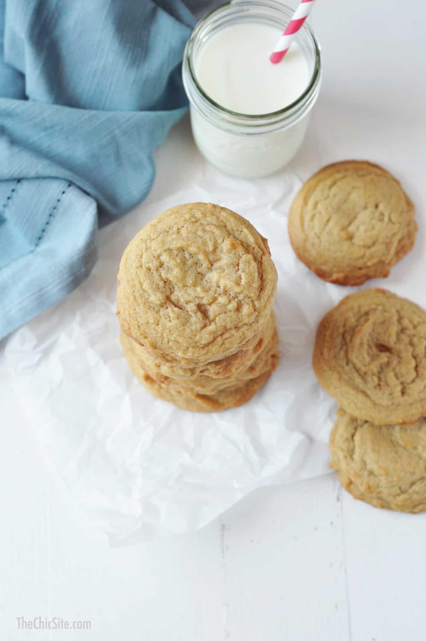 Unchocolate chip cookies