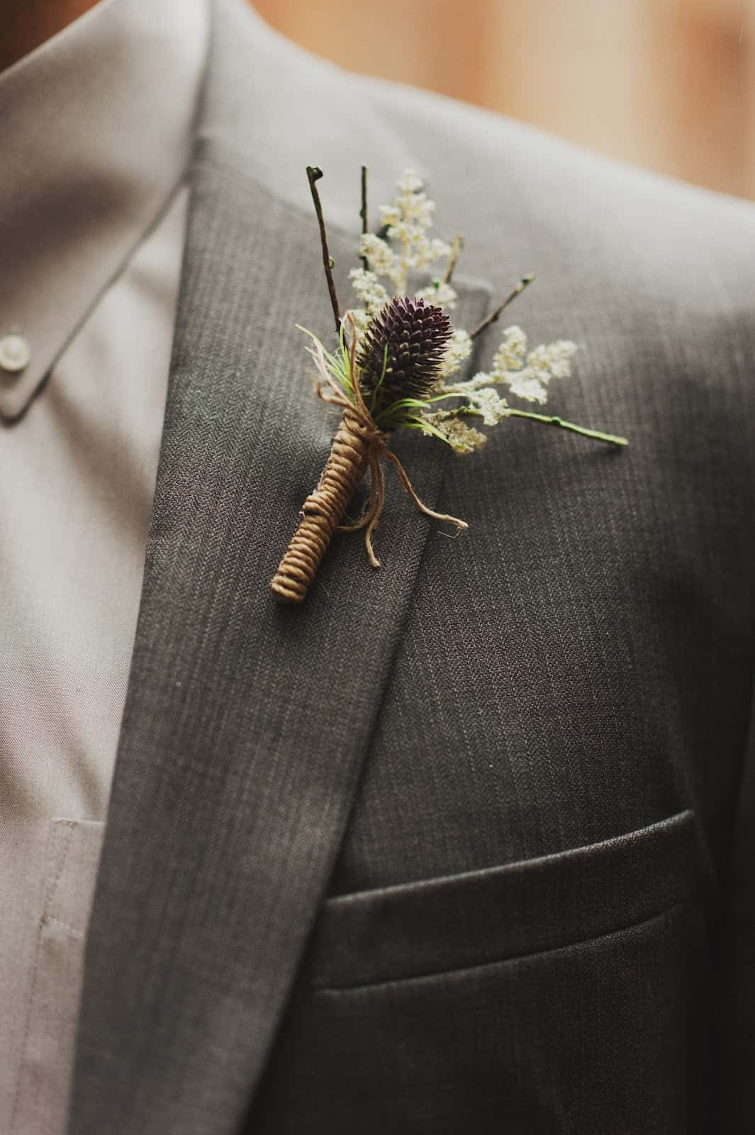 Diy boutonnieres that are perfect for any occasion 6 babys breath and twigs for fall solutioingenieria Image collections