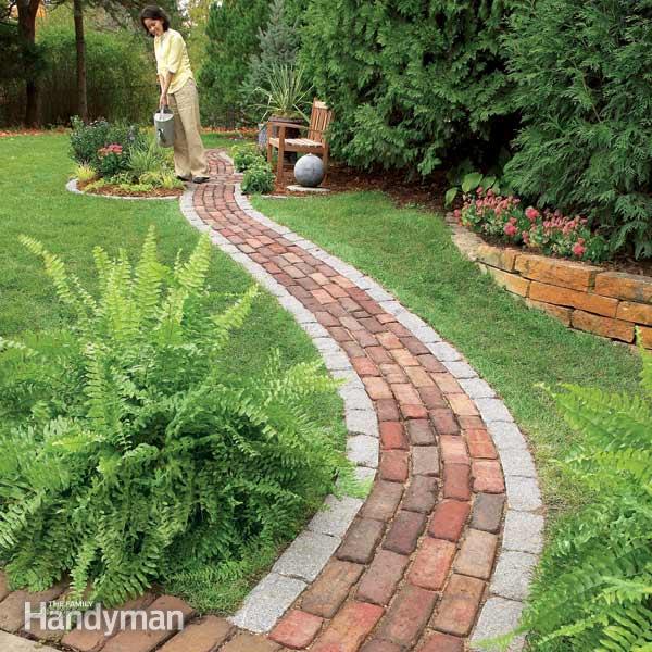 9. Brick Pathway