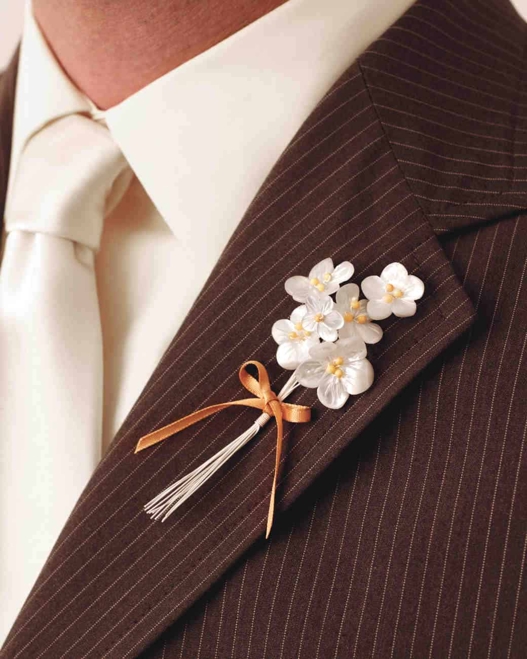 How to make boutonnieres with silk flowers flowers healthy bunches of tiny silk flowers diy boutonnieres that are perfect for any occasion mightylinksfo
