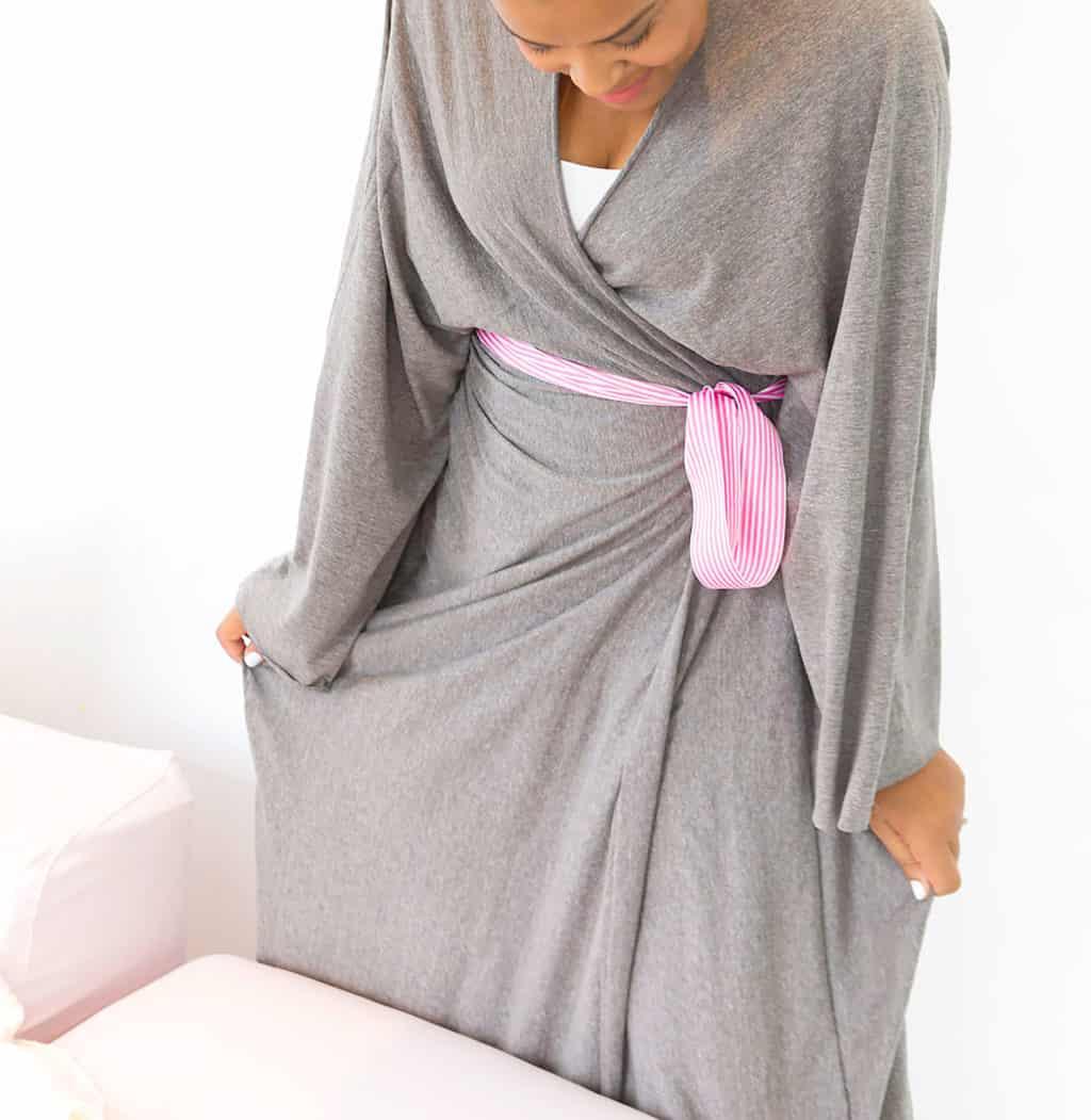Cotton sheet robe