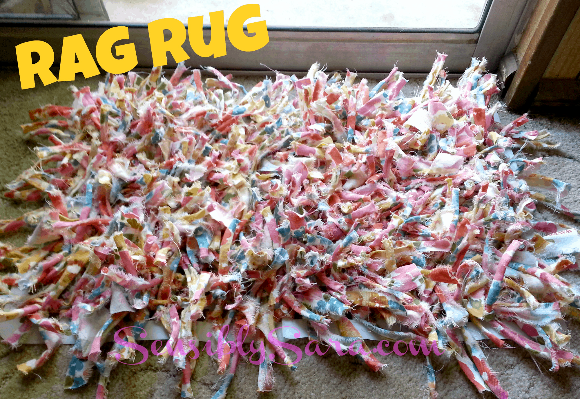 Diy Rag Rugs That Are Super Fun To Make