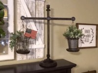 Farmhouse balance scales 200x150 Horoscope Crafts: DIY Projects for Every Sign of the Zodiac