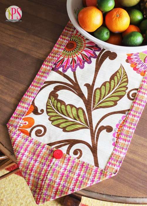 12 folded table runner