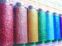 Hand glittered lighters 200x150 11 Interesting Crafts Made with Lighters