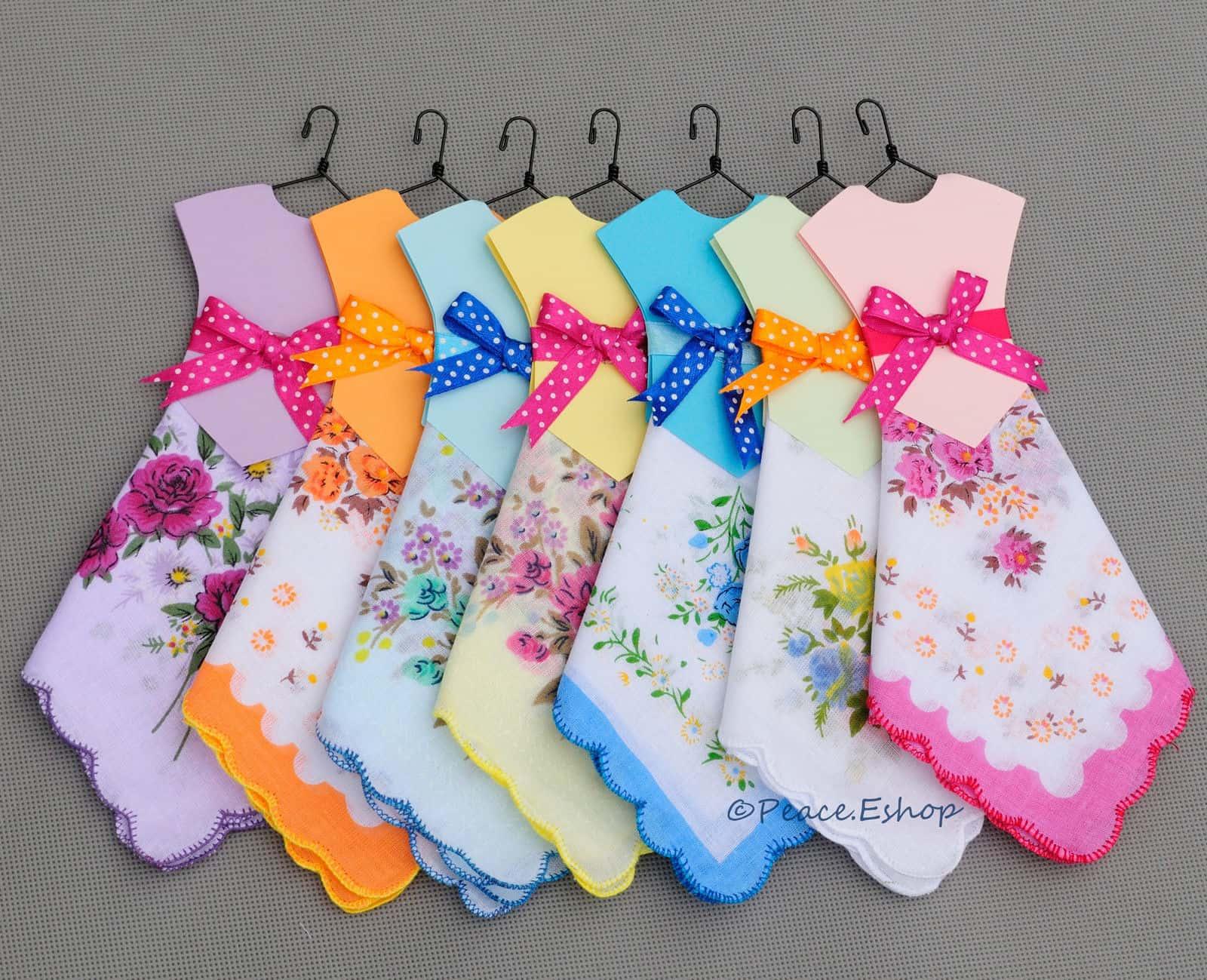 Handkerchief dress craft